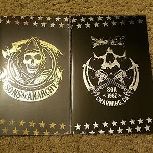 Other - Sons of Anarchy limited edition foil comics